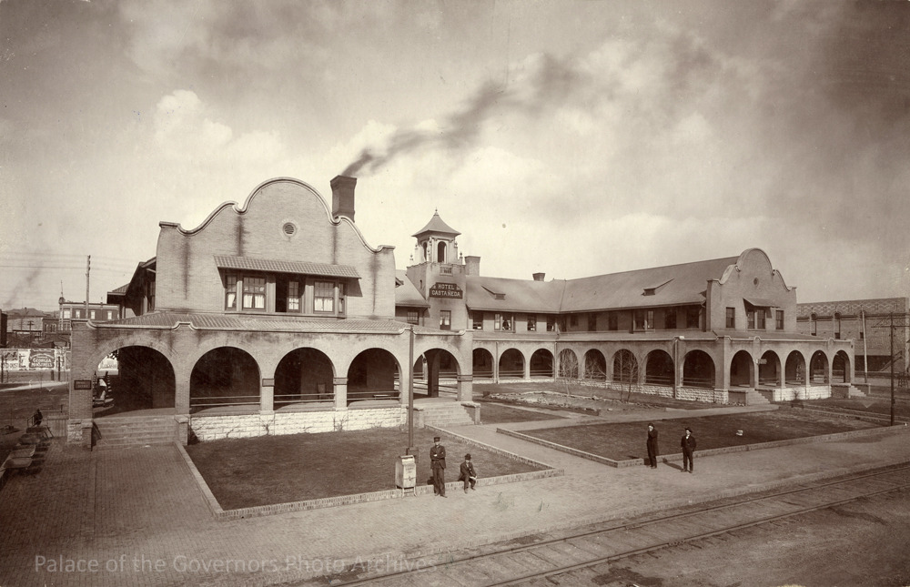 PALACE OF THE GOVERNORS PHOTO ARCHIVES  Castaneda Hotel