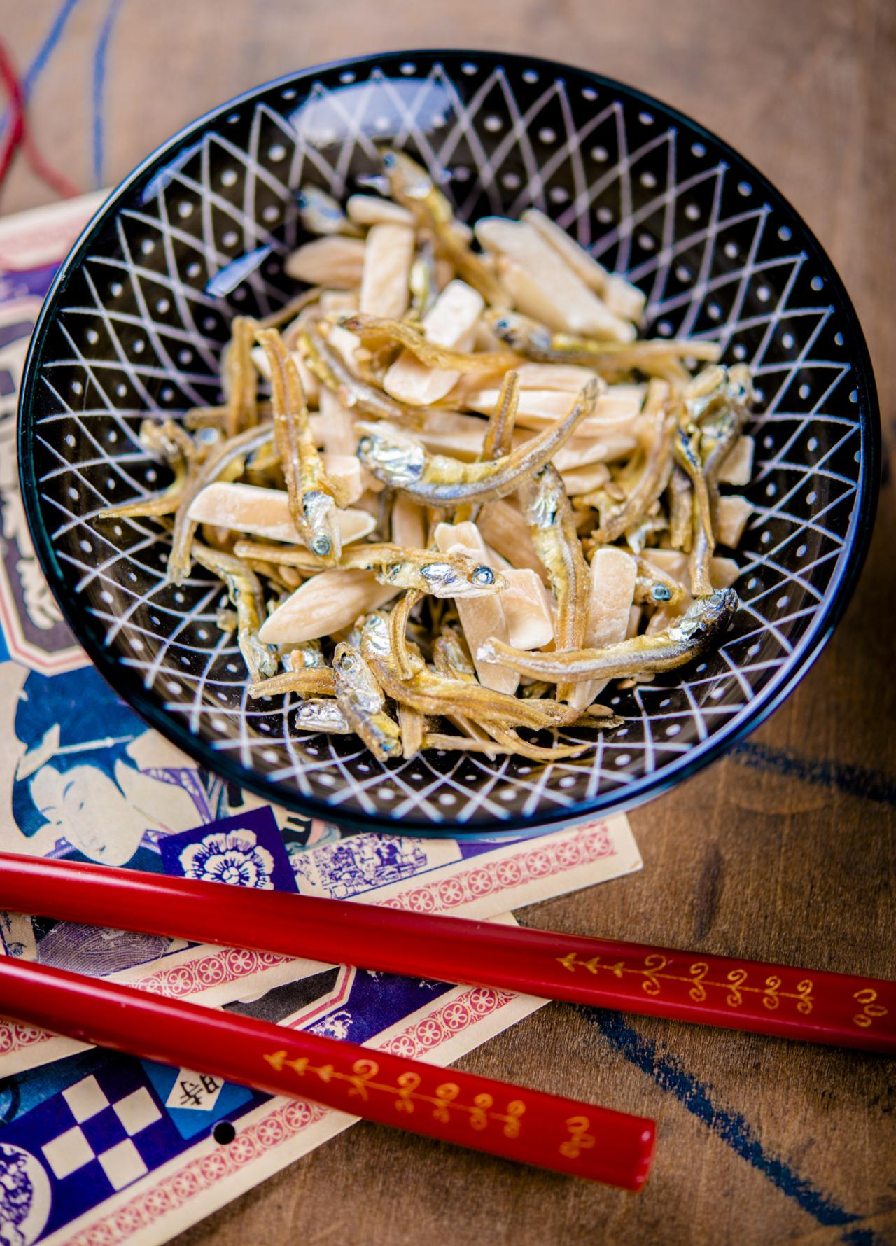 Natori Fish Almond Mix – japanese dried seafood snack