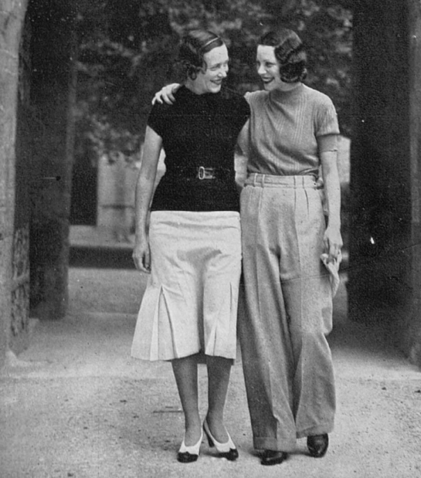 563eba93cdd5 Adele Astaire and Tilly Losch