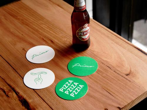 "tumblr_p2mry2RU7L1r5vojso5_500 Logo Id for Primo Pizza via By no means Now""Branding, spatial... Design"