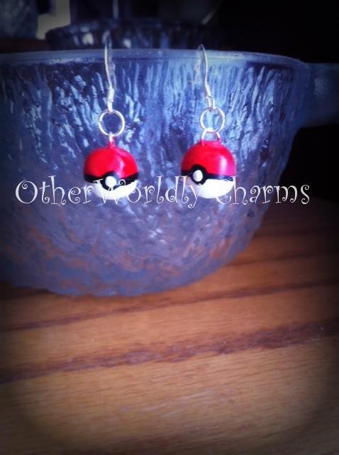pokeball earrings on Tumblr