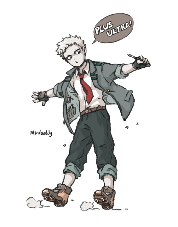 Bnha Oc - Year of Clean Water
