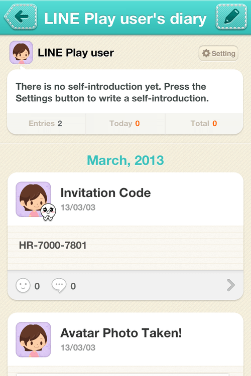 Line invitation code dulahotw line play about invitation code stopboris Images