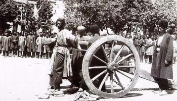 Execution by cannon in Iran, 1890s via reddit The story behind