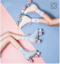 pastel roller skates | Tumblr