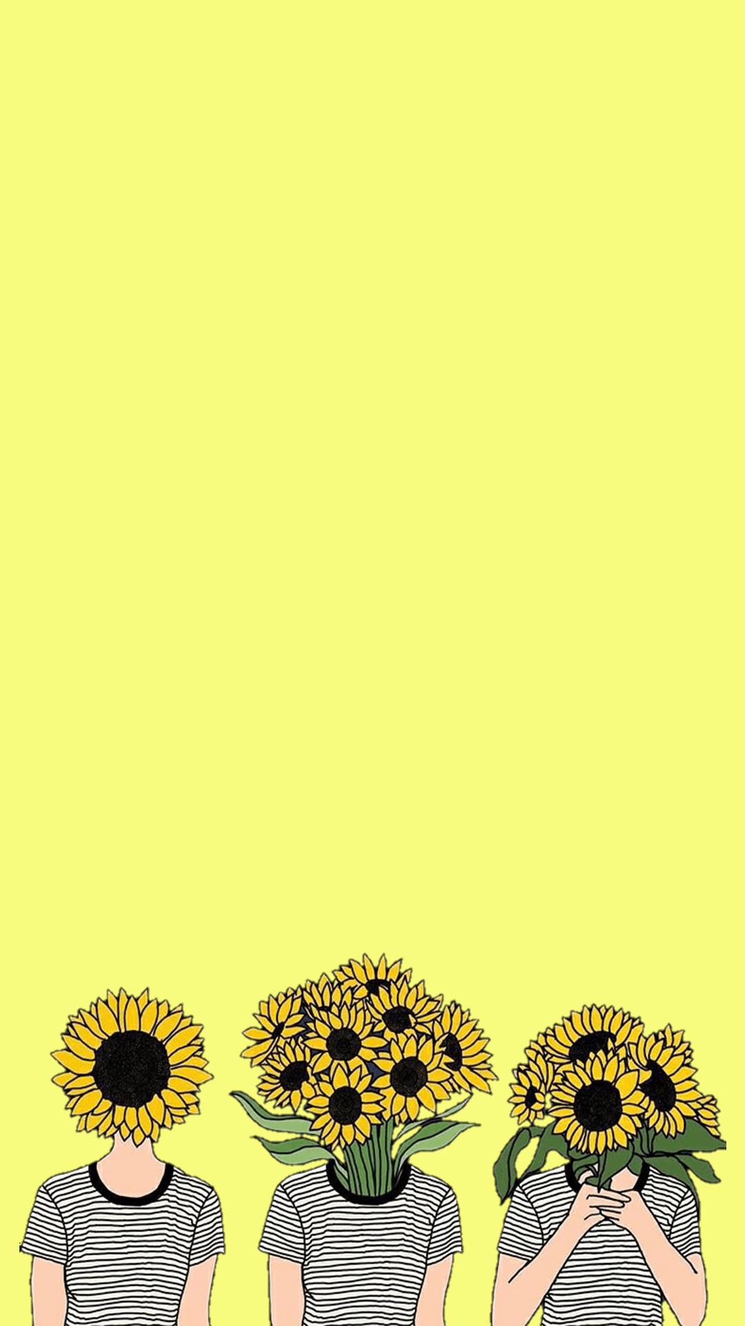 Yellow Aesthetic Desktop Wallpaper