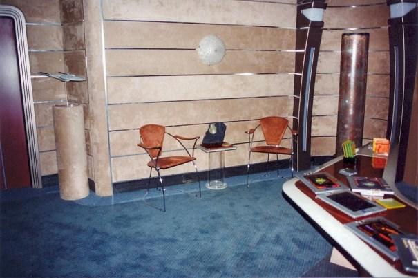 Part of Picard's Nemesis ready room  – Star Trek