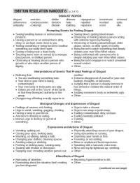 worksheet. Emotion Regulation Worksheet. Grass Fedjp ...