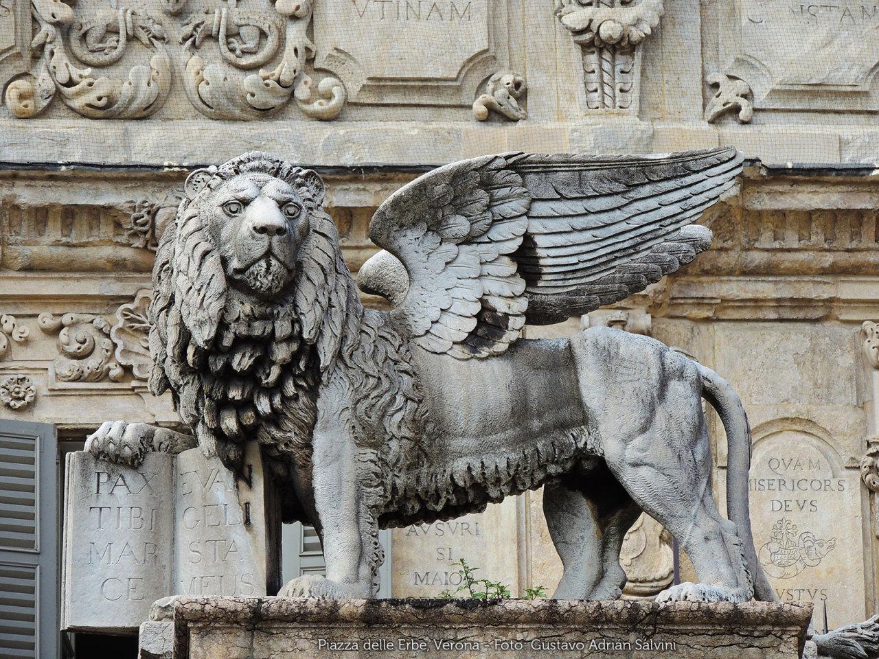 Piazza delle Erbe, Verona, regione Veneto, Italia - Foto: Gustavo Adrián Salvini