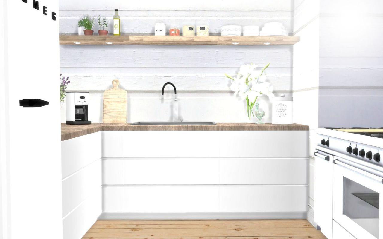 HVIKIS  Kitchen counters  cabinets mesh