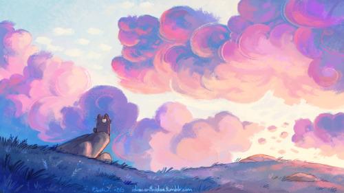 Cute Watercolor Laptop Wallpapers Desktop Wallpaper On Tumblr