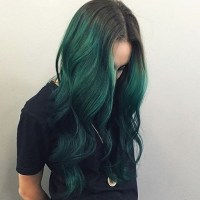 dark green hair dye | Tumblr