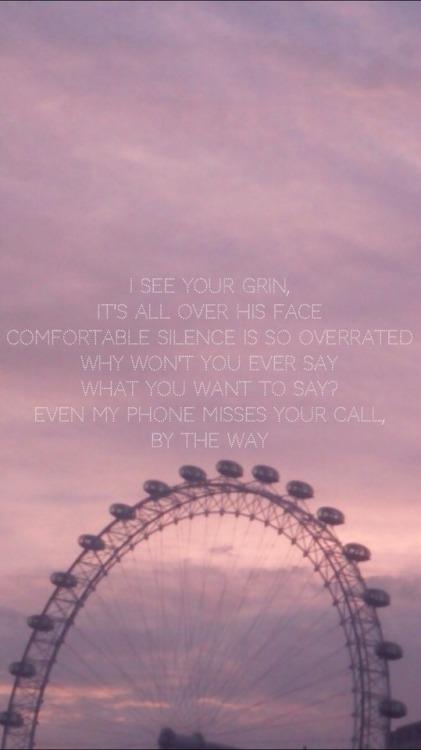 Fall Out Boy Wallpaper Iphone 6 Kiwi Lyrics Lockscreens Tumblr