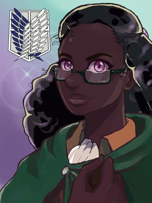 anime nerd girl
