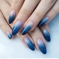 ombre nail design | Tumblr