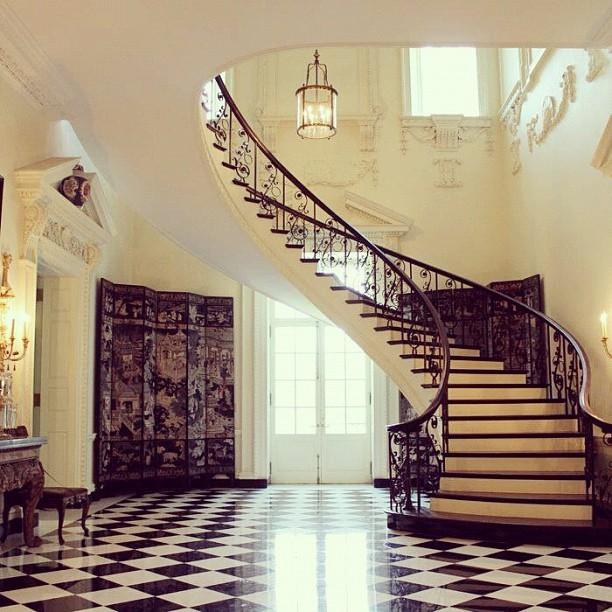 Atlanta History Center  Staircase inside Atlantas