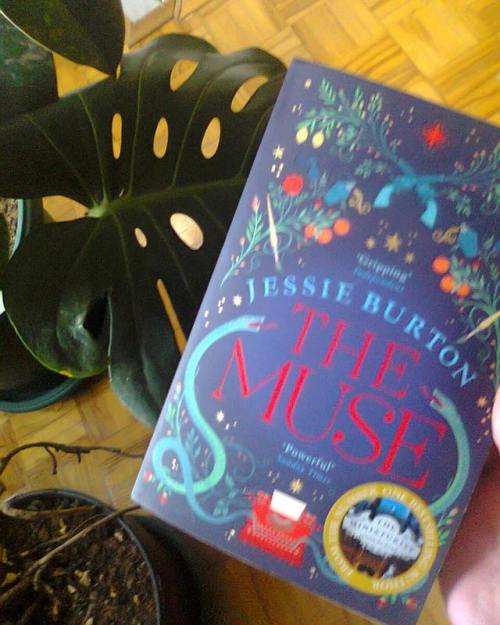 #bookmail There's a certain curiosity/pressure i feel about trying out popular reads so I got my claws on #themuse by #jessieburton #bookstagram #bookish #instabook #igreads #bookworm