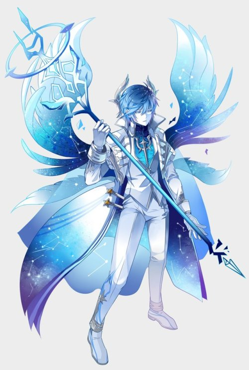 Anime Lonely Girl Wallpaper Elsword Luciel Tumblr
