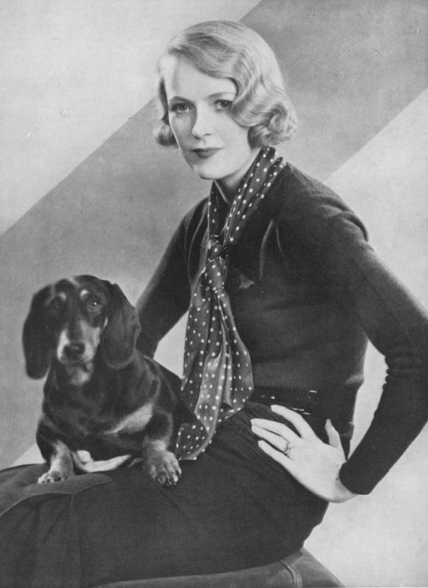 Lady Sylvia Ashley (later wife of Douglas Fairbanks and