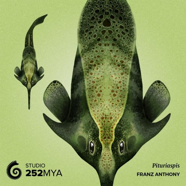 2c565f3c6bf 252mya: Pituriaspis Artwork by Franz Anthony… – Ecology