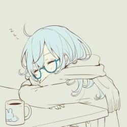 anime kawaii manga sleeping sleep tired pretty sleepy drawing chibi dessin bocetos jp dibujos dessins aesthetic nap nice random uploaded