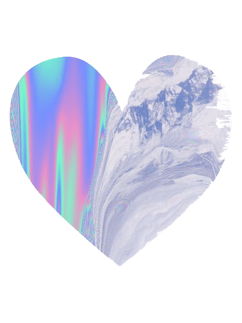 Vaporwave Wallpaper Girl Holographic Png Tumblr