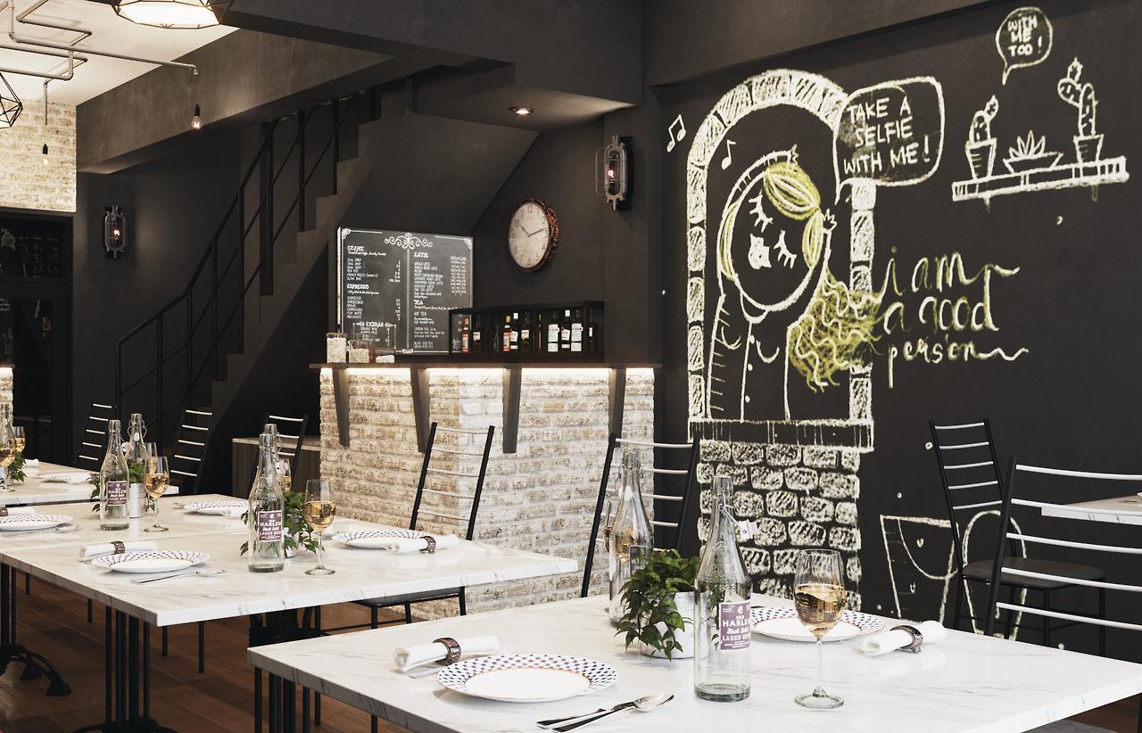 DIONCH STUDIO Nya' Londo Café An Interior