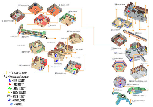 Hearts Map Atlantica Kingdom