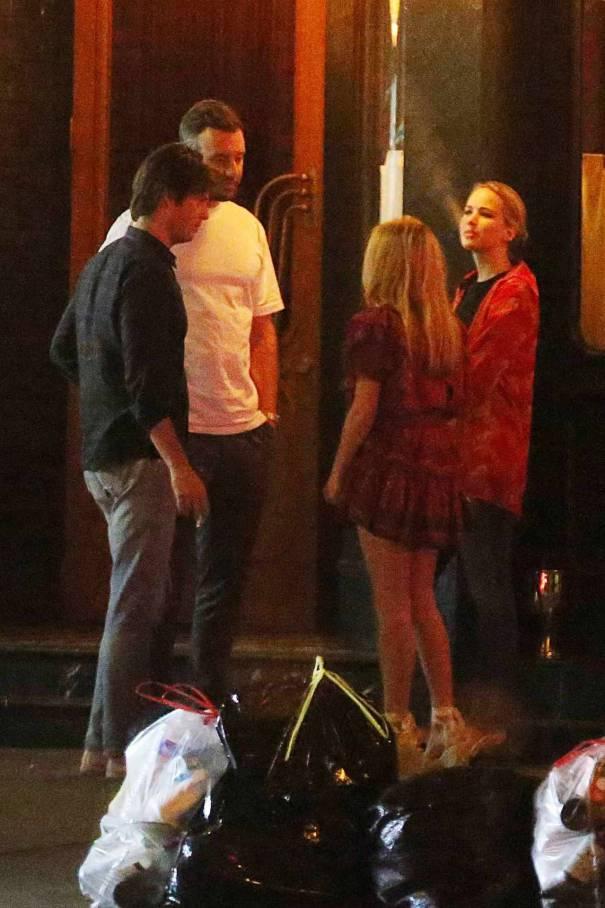Jennifer Lawrence Double Date With Cooke Maron Jennifer