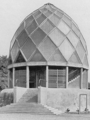 Design is fine  Bruno Taut Glass House or Pavillon