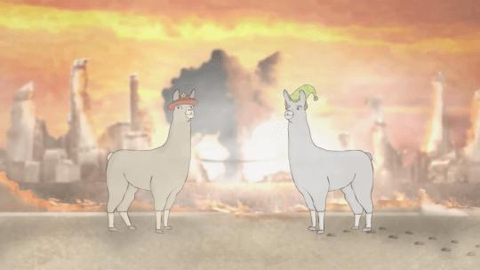 Carl And Hats Paul Llamas