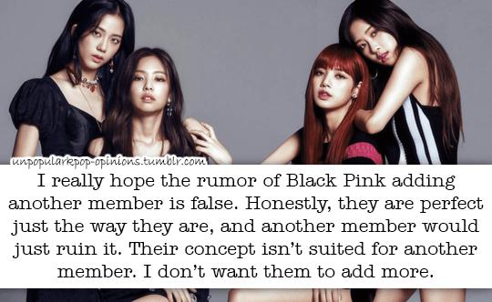 I reallu hope the rumor of Blackpink adding an… – KPop Fan