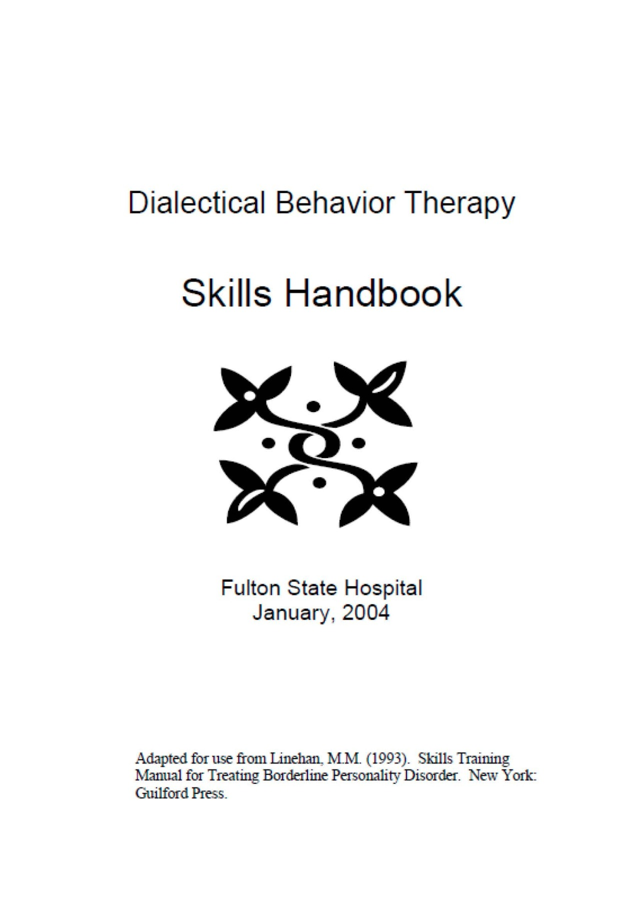 Healingschemas Dbt Skills Resources Model For