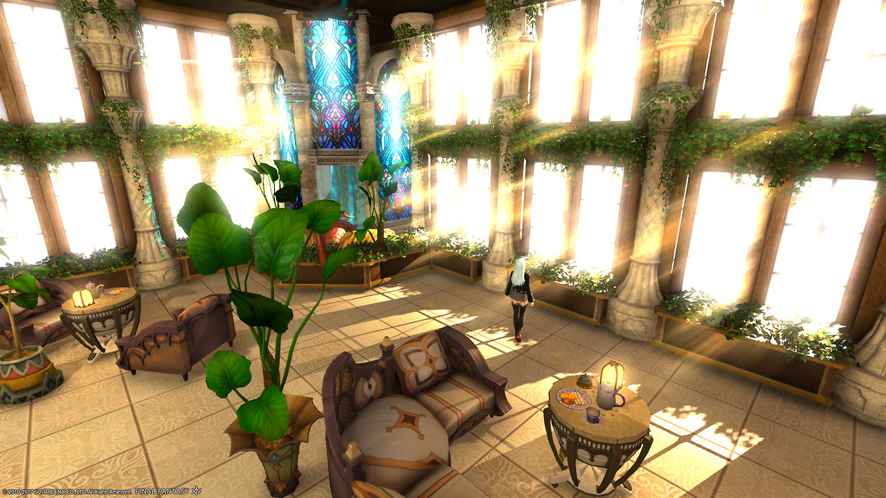 Alices House Designs In Final Fantasy XIV The Basement