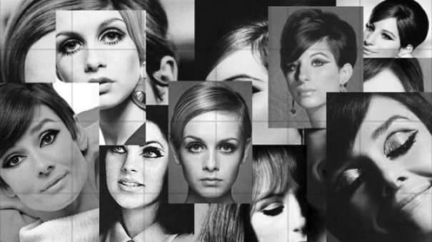 1960s Style Icons Makeup and Beauty Barbara Streisand, Twiggy, Audrey Hepburn and Priscilla Presley