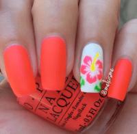 hawaiian nails | Tumblr