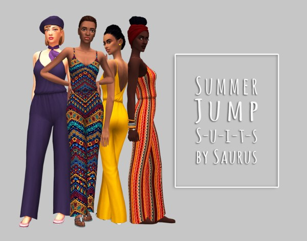 Male Sims 4 Jumpsuit - Year of Clean Water