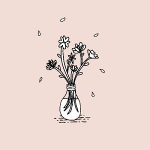 flower flowers drawings drawing doodle aesthetic line plant floral minimalist doodles easy plants instead rose stars gods keep pots visit