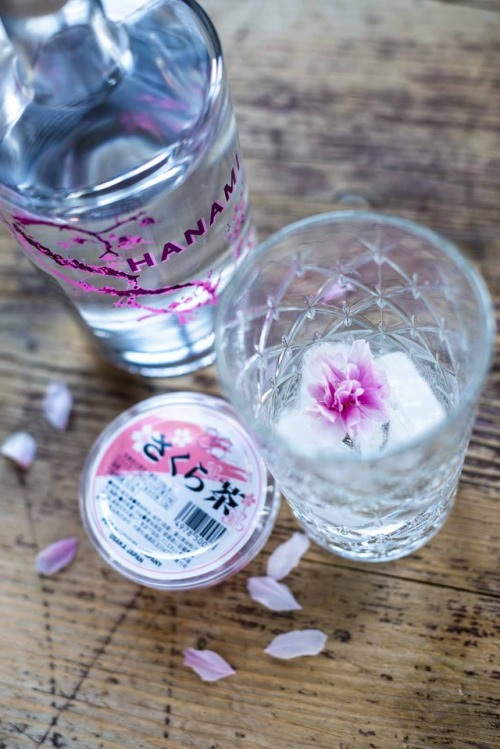 I know, season is nearly over, but I just discovered hanami gin – cherry blossom flavored gin. Together with real cherry blossoms it gives a really nice touch to gin tonic! 乾杯!