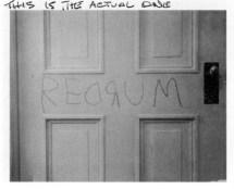Redrum Door Shining