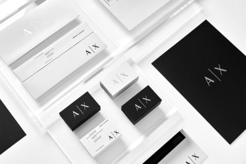 "tumblr_ozjyb6MnCZ1r5vojso7_500 Brand Identity forArmani Exchange by Anagrama""In collaboration... Design"