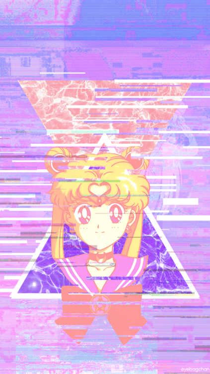 Aesthetic Wallpaper Iphone Sailor Moon Wallpaper Tumblr
