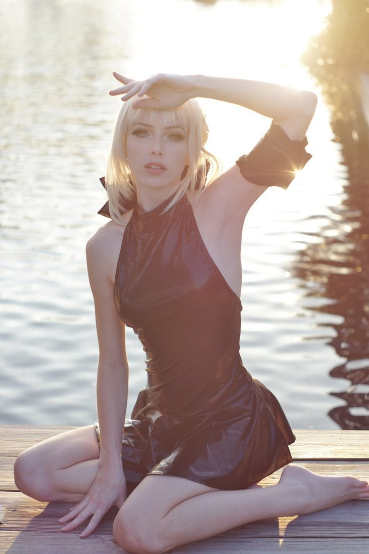 hotcosplaychicks:  Summer Saber Alter III by MeganCoffey  Check out http://hotcosplaychicks.tumblr.com for more awesome cosplayWe're on Facebook!https://www.facebook.com/hotcosplaychicks