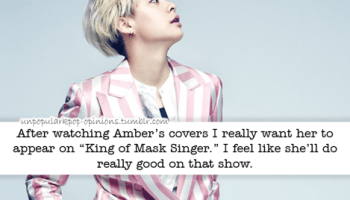 I feel like the potential of so many singers a… – KPop Fan