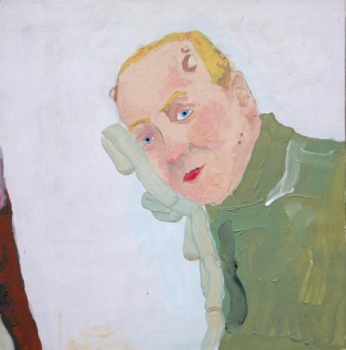tumblr_o0y0vvH9nK1qfc4xho1_500 Richard Aldrich, Future Portrait #49, 2003 Contemporary