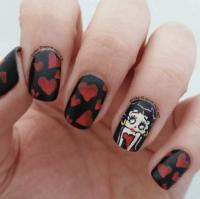 vintage nail design   Tumblr