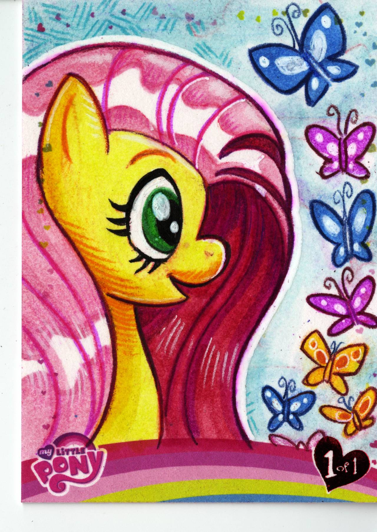 IDW Limited's My Little Pony Fluttershy Red