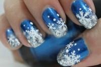 snowflake nail art | Tumblr