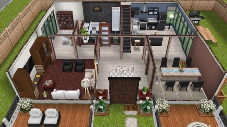 mansion sims freeplay houses