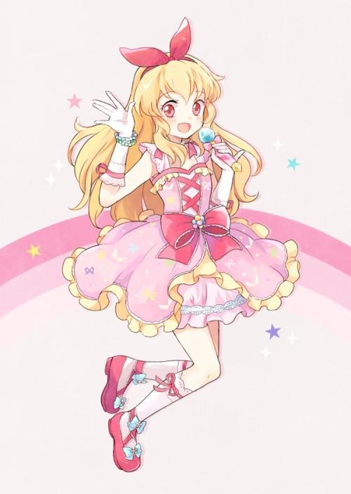 Cute Pink Girl Cartoon Wallpaper Ichigo Hoshimiya On Tumblr